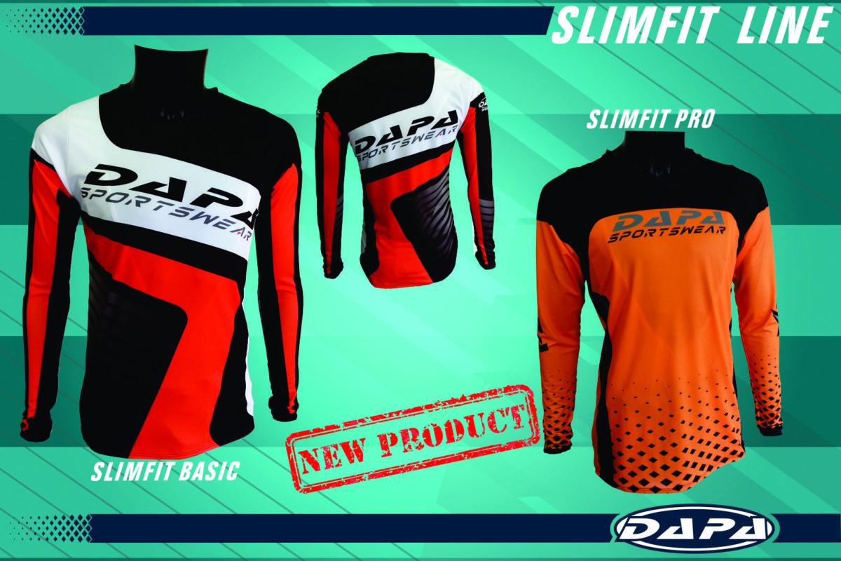 SlimFit shirts voor MX en BMX